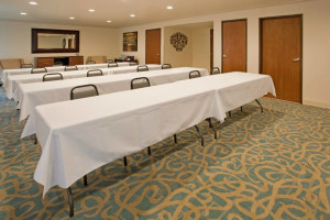 Meeting room at Branson 76 Central Holiday Inn Express.