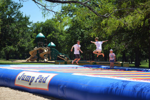 Kids playing at Yogi Bear's Jellystone Park Guadalupe.