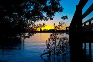 Sunrise at Black Dolphin Inn.