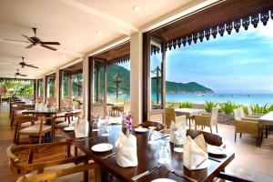 Dining at Berjaya Redang Beach Resort.