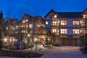 Exterior view of The Corral at Breckenridge Resort Condominiums.