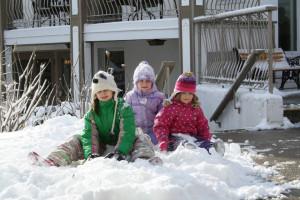 Winter fun at Fern Resort.
