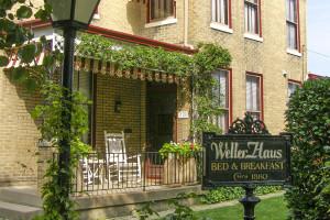 Exterior view of Weller Haus Inn.