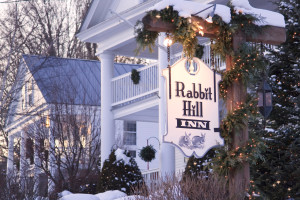 Exterior view of Rabbit Hill Inn.