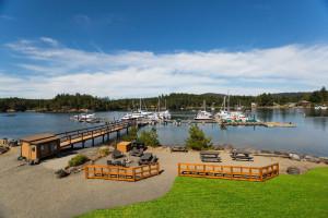 Lake view at Snug Harbor Marina Resort.