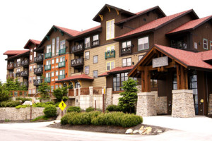 Vacation rental exterior view at Snowshoe Properties Management.