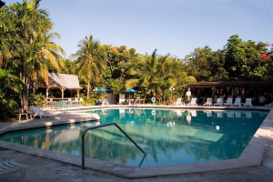 Outdoor pool at Banana Bay Resort-Key West.