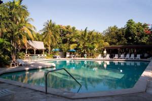 Outdoor pool at Banana Bay Resort-Key West.