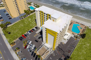 Exterior View of Hyatt Place Daytona Beach – Oceanfront