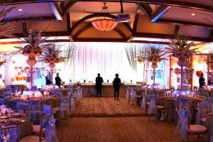 Wedding at Fairmont Tremblant Resort.