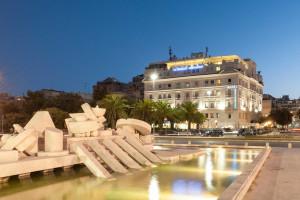 Exterior view of Hotel Esplanade.