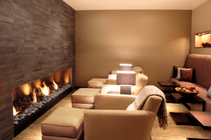 Fireplace Room at  The Westin Hilton