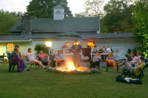Campfire Activities at Glen Falls House