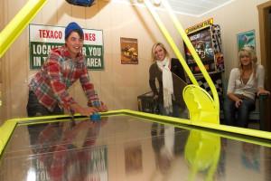 Rental game room at Big Powderhorn Mountain Resort.