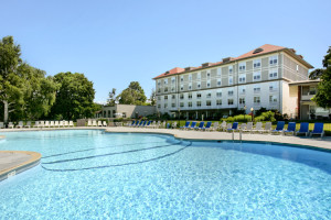 Outdoor Pool at Fort William Henry Resort