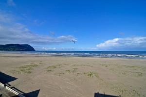 Beach view at Ocean View Resort.