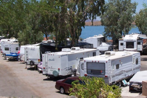 RV resort at Havasu Springs Resort.