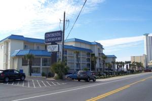 Exterior view of Continental Condominiums.