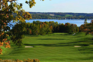 Golf course at Elmhirst's Resort.