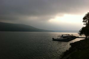 Lake at Blue Moon Rising.