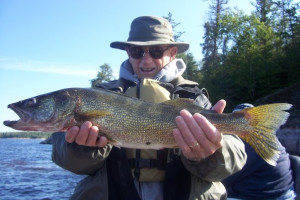 Fishing at Caribou Falls Lodge
