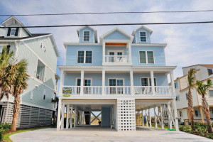 Rental exterior at Elliott Beach Rentals.