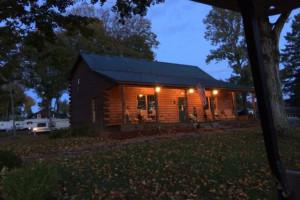 Cottage at GrandView CampResort & Cottages.