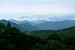 Blue Ridge Parkway near Timbers Lodge.