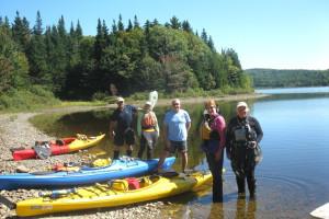 Water activities at Bald Mountain Camps Resort.