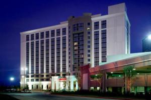 Exterior view of Dallas Marriott Las Colinas.