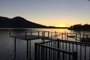 Dock at Lake Marina Inn.