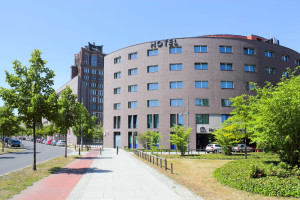 Exterior view of Hotel am Borsigturm.