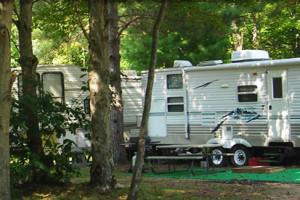 Camping at  Fox Hollow Lodge