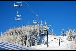 Ski lifts at Grand Lodge at Brian Head.