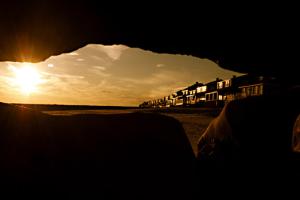 Exterior view at Hawk's Nest Beach.