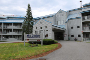 Exterior view at The Lodge at Lincoln Station.