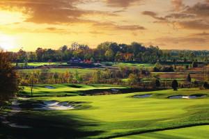 Golf course at Salamander Resort & Spa.