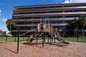 Children's playground at Rosen Inn International.