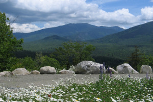 Mountain view at Franconia Notch Vacations Rental & Realty.