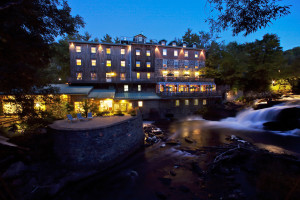 Exterior view of The Wakefield Mill Hotel and Spa.