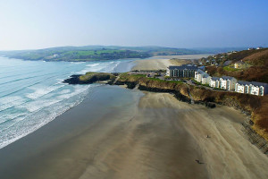 Exterior view of Lodge & Spa at Inchydoney Island.