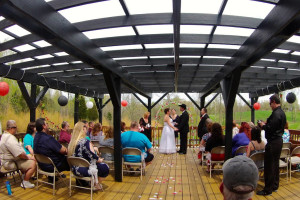 Wedding at Elk Ridge Ranch.