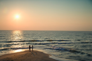 Romantic walks at Myrtle Beach Vacation Rentals.
