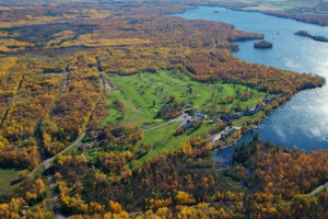 Aerial View of Tagalong Golf & Resort