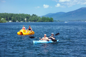 Kayaking at Marine Village Resort.