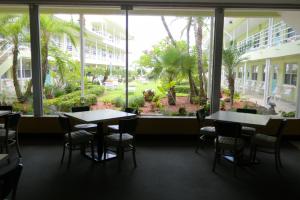 Interior view at Tropic Terrace Resort.