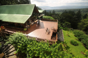 Exterior view of Arenal Observatory Lodge.