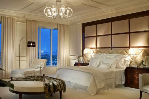 Guest room at The Ritz-Carlton, Palm Beach.