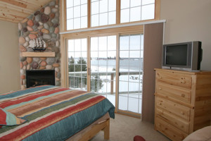 Villa guest room at Cobblestone Cove Villas