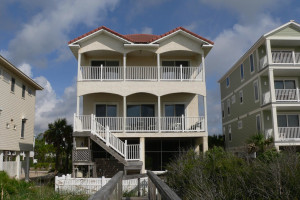 Exterior view of Resort Vacation Properties of St. George Island.